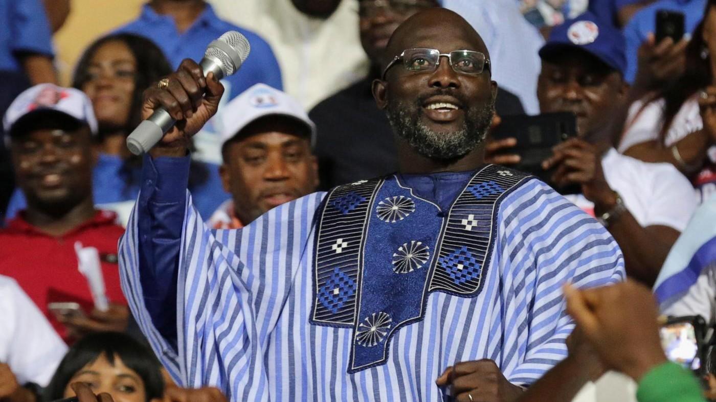Chi è George Weah, Pallone d'oro aspirante presidente della Liberia