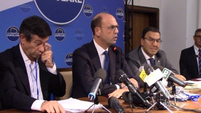"""Ap, Alfano: """"Non voteremo per il candidato premier del Pd"""""""
