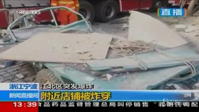 Cina, forte esplosione vicino a Shanghai: 2 morti in fabbrica
