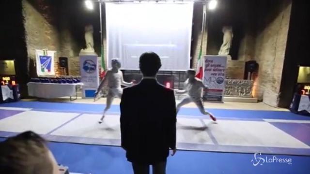 """Scherma, torna il torneo """"Stella per Marta Russo"""""""