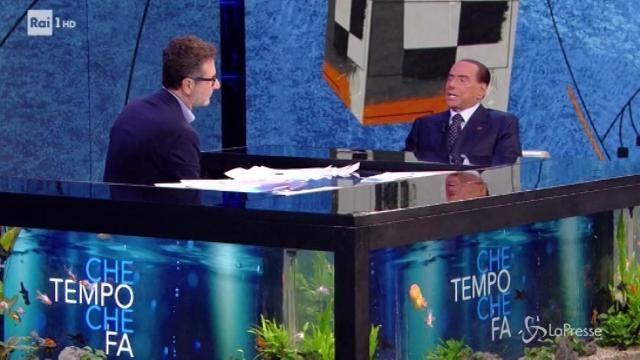 """Berlusconi a 'Che Tempo Che Fa': """"Il nostro candidato premier? Leonardo Gallitelli"""""""