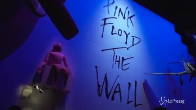 Nick Mason presenta a Roma la mostra definitiva dei Pink Floyd