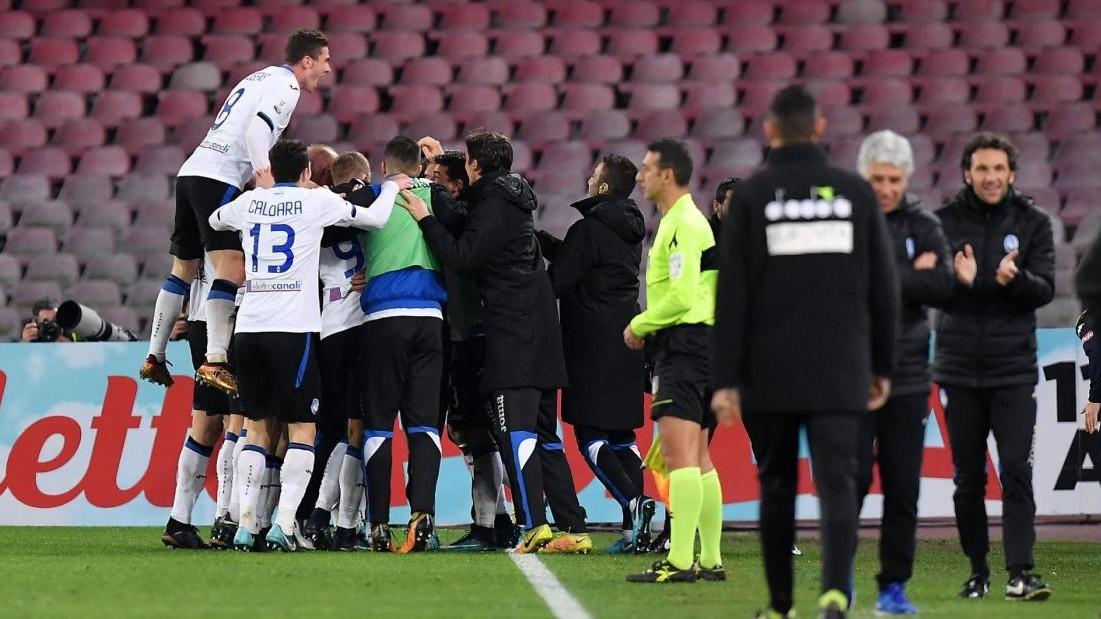 Coppa Italia, Napoli ko. L'Atalanta va con Papu e Castagne: 1-2