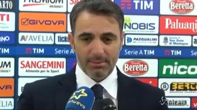 """Derby di Coppa Italia all'Hellas, Pecchia: """"Avanti con questo spirito"""""""