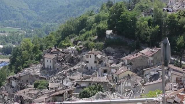 Scossa di terremoto a Amatrice
