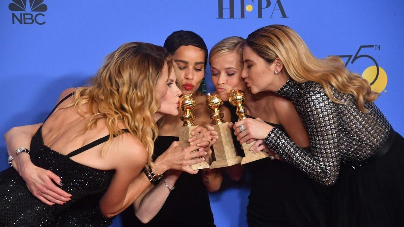 """Golden Globe, Hollywood contro le molestie. Trionfano """"Three Billboard"""" e """"Lady Bird"""""""