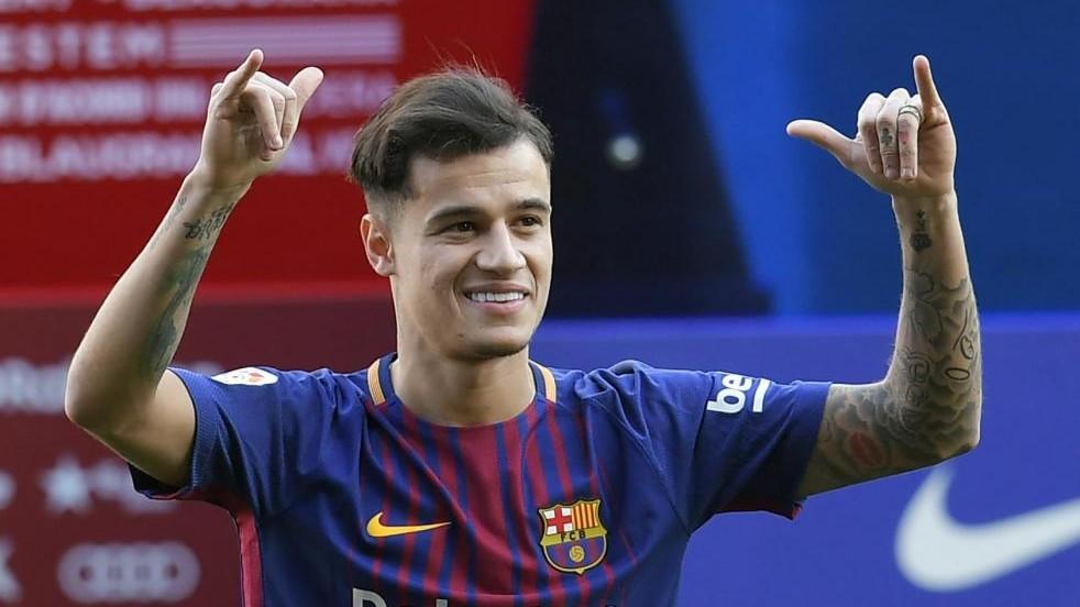 """Coutinho, prime ore al Barca: """"Che onore giocare con Messi"""""""