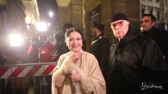 Milano, tutti i vip alla Prima della Scala