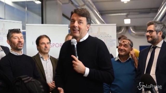"""Centrosinistra, Renzi: """"No ad ammucchiate come fanno altri"""""""