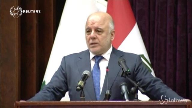 Premier Iraq: guerra contro Isis è finita