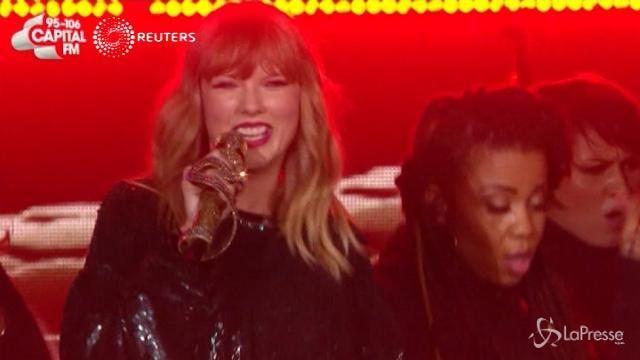 Da Taylor Swift e Sam Smith: le esibizioni al Jingle Bell Ball di Londra