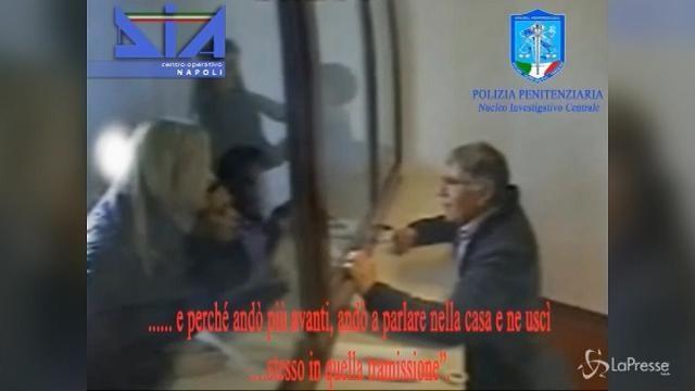 I colloqui in carcere fra il boss Zagaria e le sue donne