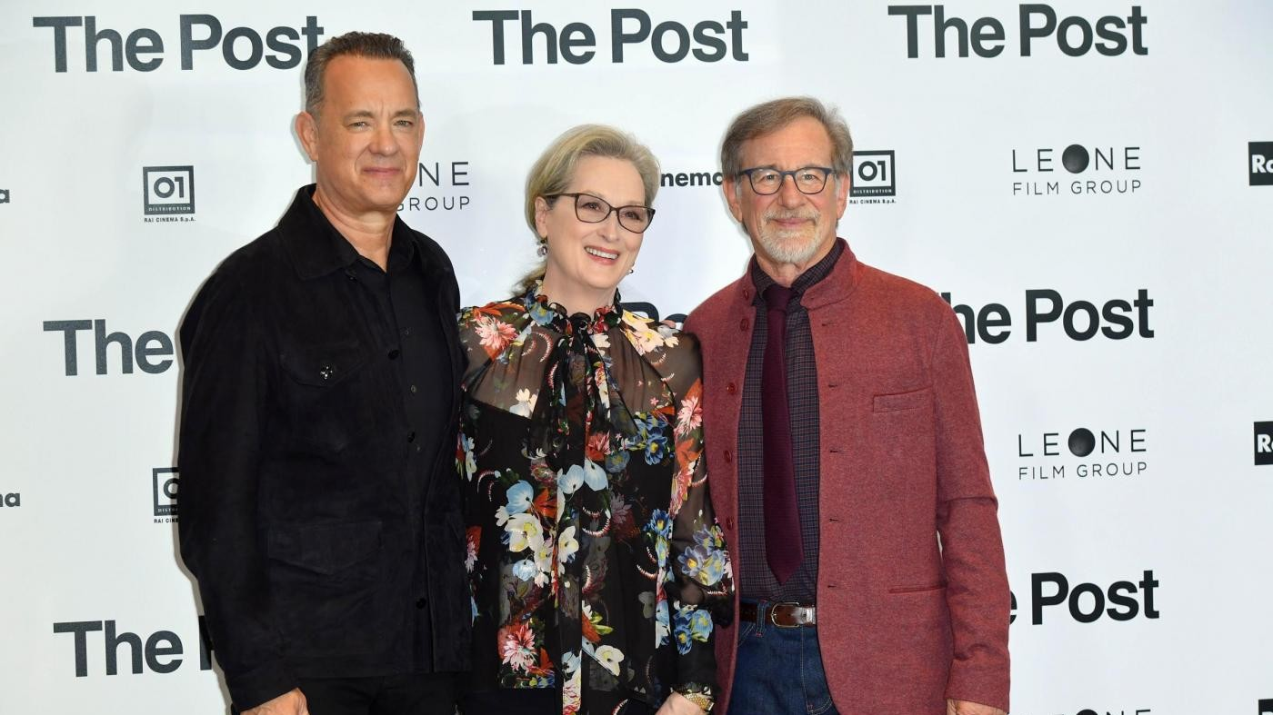 """The Post, Spielberg racconta il giornalismo: """"Con Trump la libertà di stampa è in pericolo"""""""