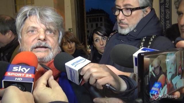 """Sampdoria, Ferrero: """"Calo fisiologico, ma basta riprendere le redini"""""""