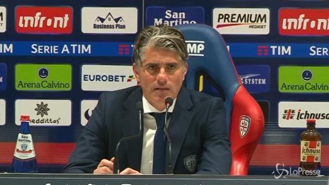 """Cagliari, Lopez: """"Non abbiamo fatto la partita che volevamo"""""""