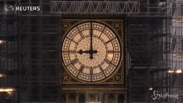 Londra, il Big Ben torna a suonare