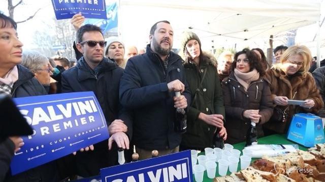 """Salvini: """"L'addio allo Ius soli è il nostro regalo di Natale"""""""