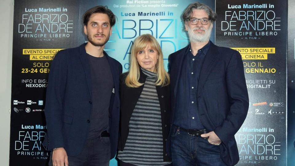 Luca Marinelli 'Principe libero' nel film su Fabrizio De Andrè