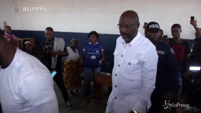 Ballottaggio in Liberia, George Weah al seggio