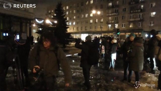 San Pietroburgo, esplode bomba artigianale in un market