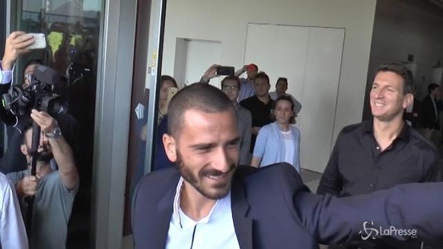 """Milan, l'agente di Bonucci: """"Resta qui"""""""