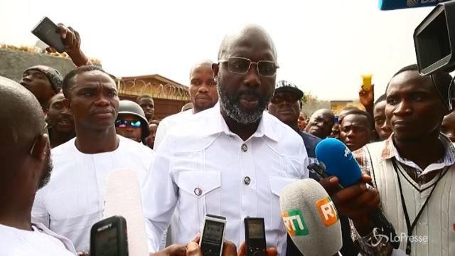 Liberia in festa per l'elezione di Weah