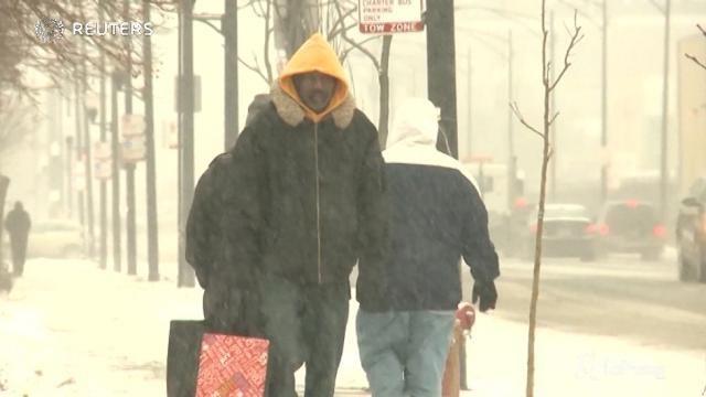 Freddo record a Chicago, temperature a -22 gradi