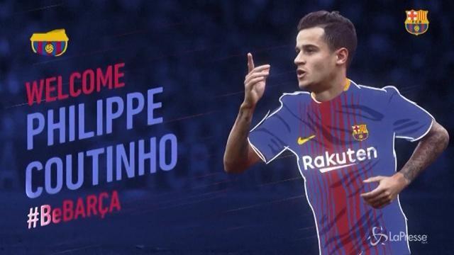 Il Barça dà il benvenuto a Coutinho, colpo da 160 milioni