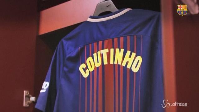 Il Barcellona dà il benvenuto a Coutinho