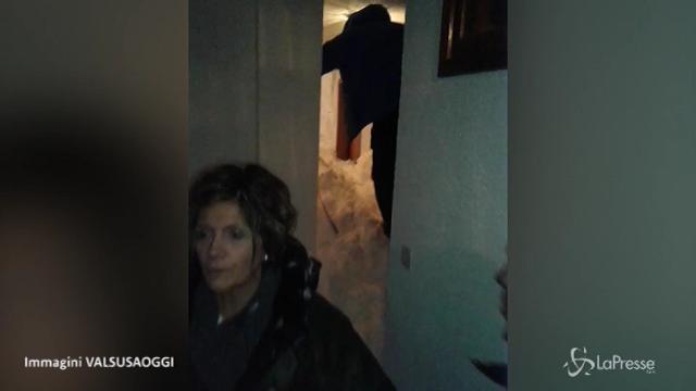 Slavina su case a Sestriere, nessun ferito