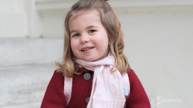 Primo giorno di asilo per la principessa Charlotte