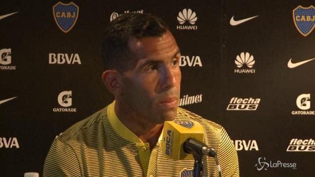 Calcio, Carlos Tevez torna al Boca Juniors