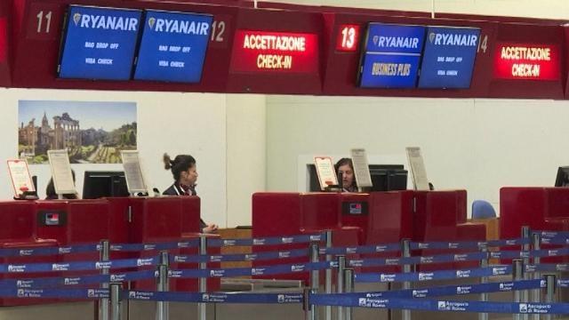 Sciopero Ryanair, voli a rischio il 10 febbraio