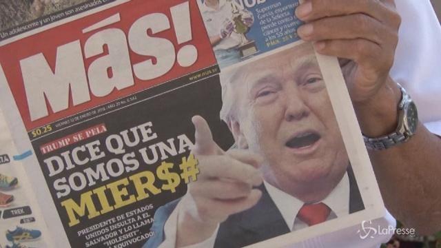 "Paesi africani furiosi con Trump: ""Ora le scuse"""