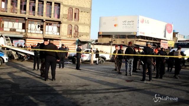 Almeno 38 morti in un doppio attacco suicida a Baghdad