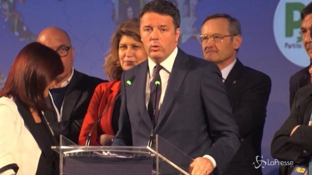 """Renzi: """"La campagna elettorale? Sembra la lista di della spesa di Babbo Natale"""""""