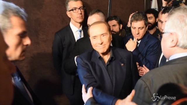 """Berlusconi contro il M5s: """"È una setta"""""""