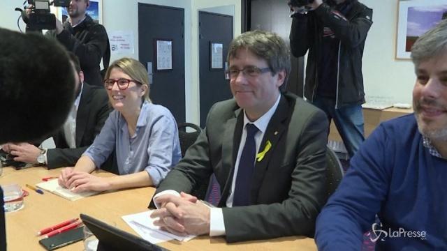 Catalogna: no a elezione a distanza di Puigdemont
