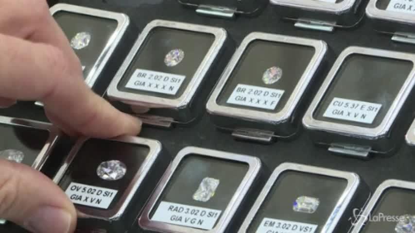 Pioggia di diamanti in Israele: è la settimana di tagli e carati