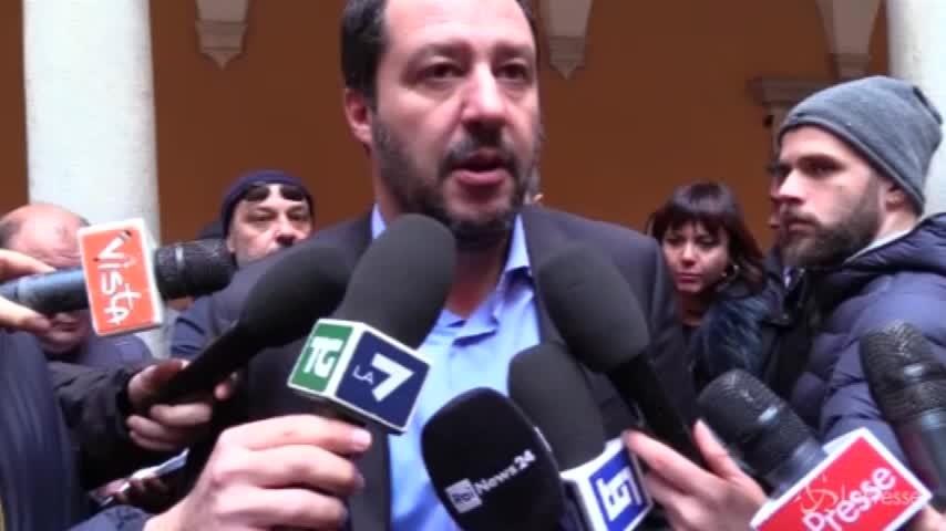 """Salvini: """"Contro terrorismo reintrodurre la leva obbligatoria"""""""