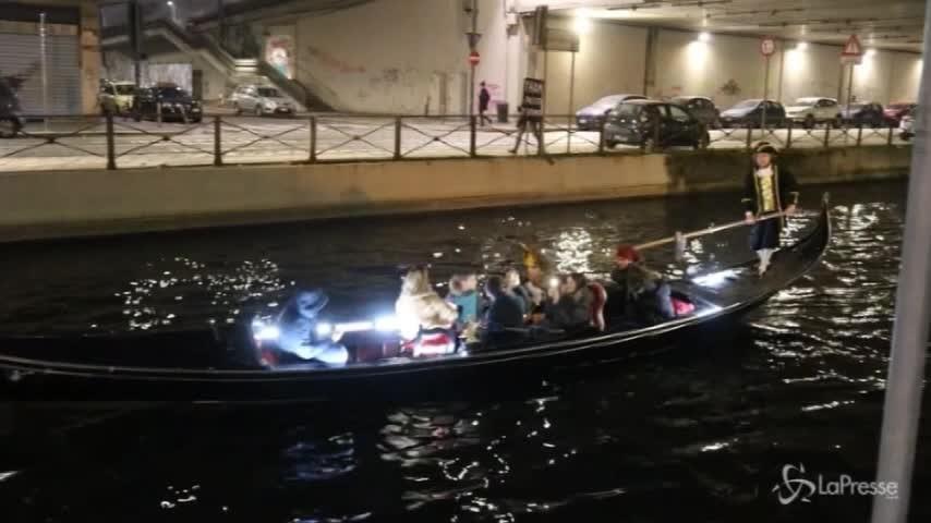 Carnevale a Milano: concerto di violino sui Navigli