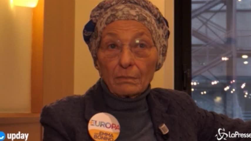 """Emma Bonino: """"In Parlamento per un'Europa aperta"""""""