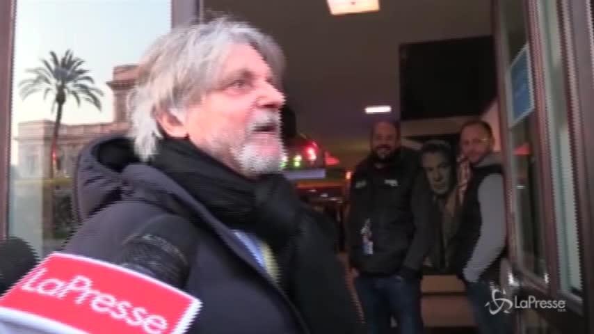"""Sampdoria, Ferrero: """"Io ministro? Avrei oscurato tutti"""""""