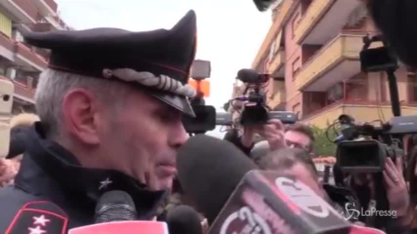 """Latina, il comandante Vitagliano: """"Il padre si è suicidato, le figlie uccise già in mattinata"""""""
