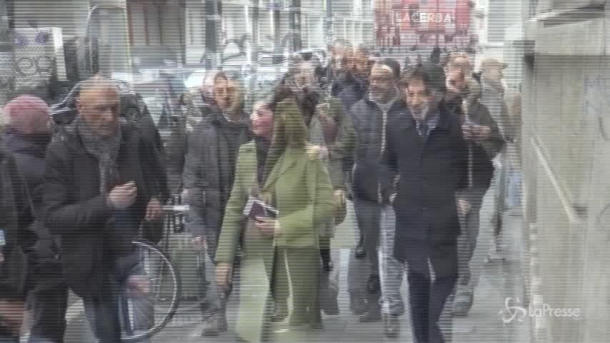 Elezioni, Laura Boldrini vota a Milano