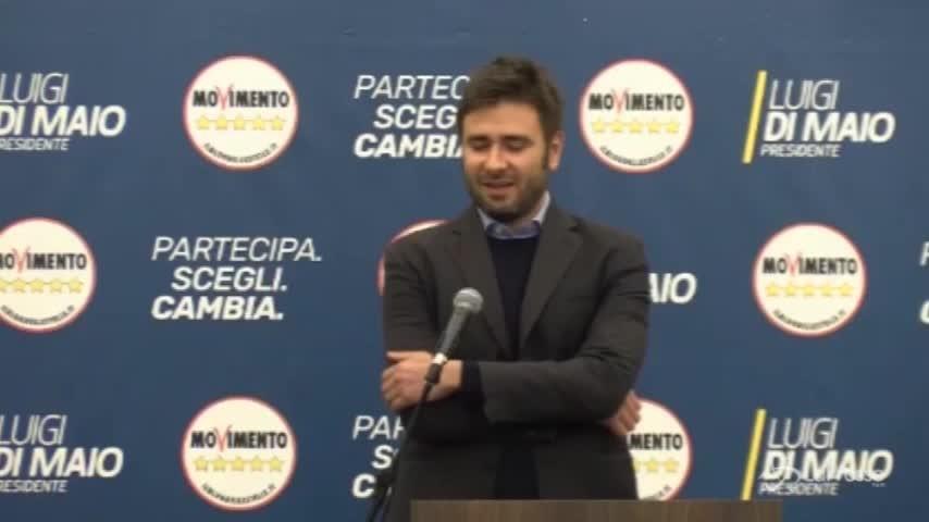 """Elezioni, Di Battista (M5S): """"Se dati confermati sarà trionfo"""""""