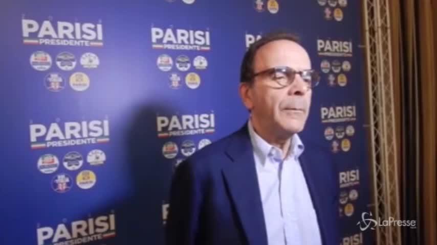 """Lazio, Parisi: """"Testa a testa con Zingaretti"""""""