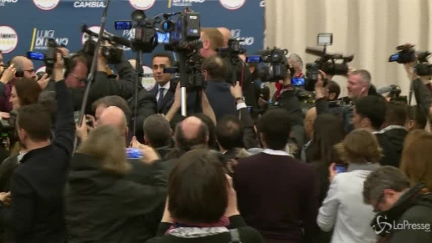"""M5S, Grillo: """"È Di Maio il capo politico"""""""