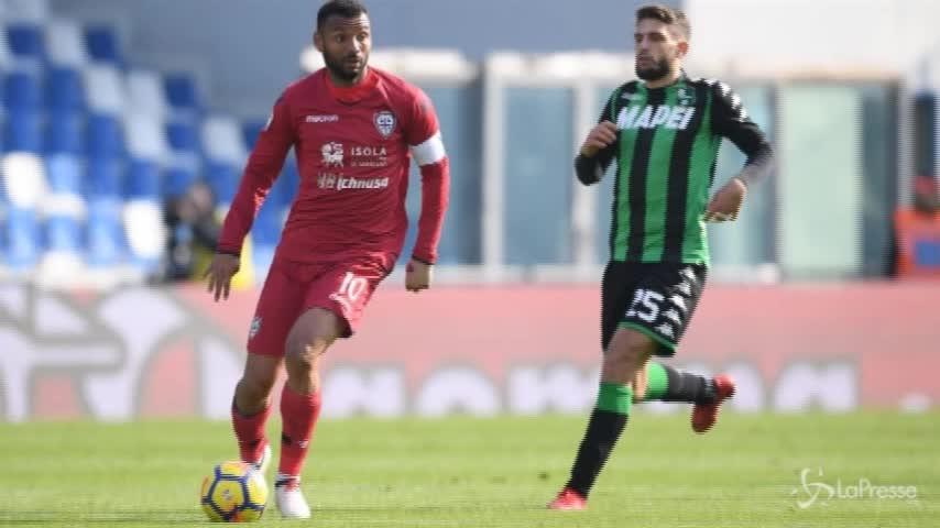 Cagliari, Joao Pedro positivo a un diuretico