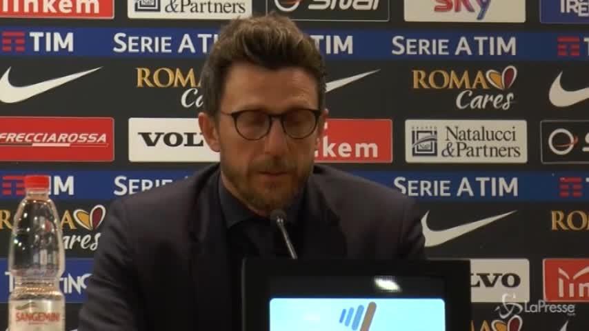 """Di Francesco: """"Schick ha talento, va aspettato"""""""